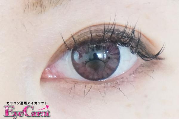【フェアリーワンデー】プリンセス ピンク アイカラット撮影装着画像